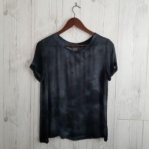 Gypsy05 • Tie-Dye Short Sleeve Top • SZ M